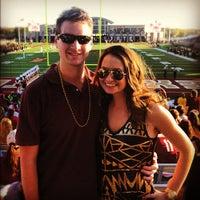 Photo taken at Bobcat Stadium by Kendall on 12/1/2012