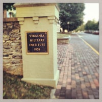 Photo taken at Virginia Military Institute by Michael F. on 9/17/2013