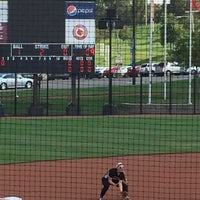 Photo taken at Koetter Center (UofL Softball Stadium) by Jennifer D. on 9/21/2014