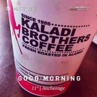 Photo taken at Kaladi Brothers Coffee by Doc E. on 5/17/2014