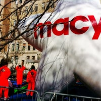 Photo taken at Macy's Parade Balloon Inflation by Austin P. on 11/21/2012
