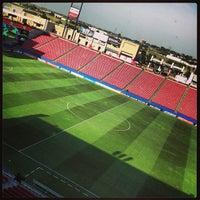 Photo taken at Toyota Stadium by Carolina W. on 7/13/2013