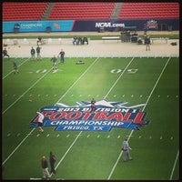 Photo taken at Toyota Stadium by Carolina W. on 1/5/2013