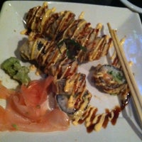 Photo taken at The Rack Sushi Bar & Billiards Lounge by Staci R. on 9/29/2012