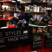 Photo taken at New Balance NYC Flagship Store by Leung L. on 10/30/2013