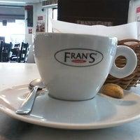 Photo taken at Fran's Café by Alex Alexandre V. on 11/9/2012