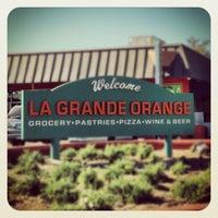 Photo taken at La Grande Orange Grocery & Pizzeria by Frank Z. on 11/16/2012