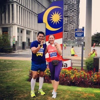 Photo taken at Istana Kehakiman (Palace of Justice) by Hafeez A. on 6/9/2013