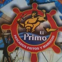 Photo taken at El Primo Pescados Fritos Y Mariscos by Alex V. on 12/27/2012