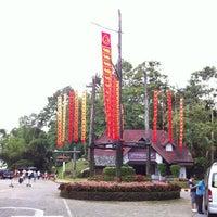 Photo taken at Doi Tung Royal Villa by Krit S. on 7/6/2013
