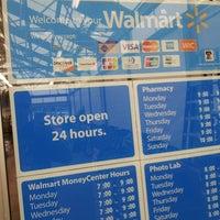 Photo taken at Walmart Supercenter by Ben M. on 8/18/2013