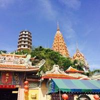 Photo taken at Wat Tham Kao Noi by Betty on 5/2/2015