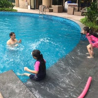 Photo taken at Pool · The Westin Kuala Lumpur 吉隆坡威斯汀酒店 by Jennifer C. on 6/5/2016