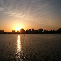 Photo taken at Running The Charles River by Atinuke D. on 4/8/2013