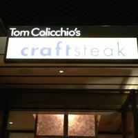 Photo taken at Tom Colicchio's Craftsteak by Charleston DJ EarwaxXx P. on 2/20/2013