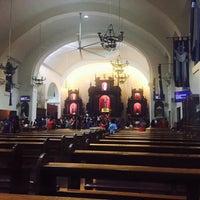 Photo taken at Santuario de San Pedro Bautista Parish by Red Mareli V. on 2/14/2016