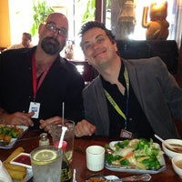 Photo taken at Le Oriental Bistro by Jon C. on 5/22/2013