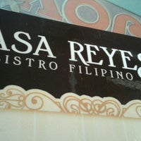 Photo taken at Casa Reyes Restaurant by Rebsie D. on 2/25/2016