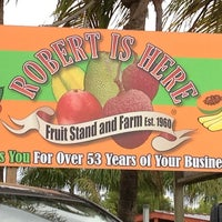 Photo taken at Robert Is Here Fruit Stand & Farm by Claudia on 7/14/2013