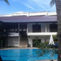 Photo taken at Bamboo Beach Hotel & Spa by Benoit F. on 9/2/2013