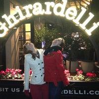 Photo taken at Ghirardelli Chocolate Marketplace by Porfirio L. on 12/9/2012