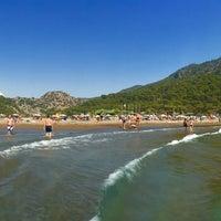 Photo taken at İztuzu Beach by AGLOTIC !. on 8/13/2015