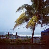 Photo taken at Pantai Padang by Fidya K. on 12/31/2012