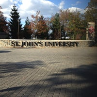 Photo taken at St. John's University by Alaska on 10/21/2012