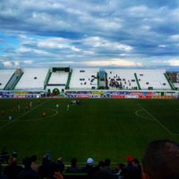 Photo taken at Stade Slaheddine Bey (CSHL) by FaRess C. on 2/14/2015