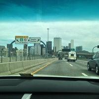 Photo taken at 4th Street Bridge by Luigi Francis Shorty R. on 4/11/2014