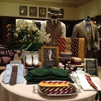 Photo taken at Brooks Brothers by Christopher B. on 4/19/2013