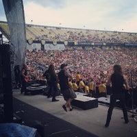 Photo taken at Rock On The Range by Mel P. on 5/19/2013