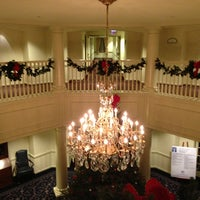 Photo taken at The Nittany Lion Inn by Christina C. on 12/25/2012