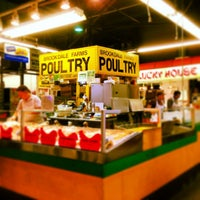 Photo taken at Lexington Market by Nathaniel L. on 4/6/2013