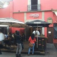Photo taken at La Cervecería de Barrio by Krla G. on 5/1/2013