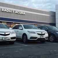 Photo taken at Karen Radley Acura by Dave H. on 5/2/2014