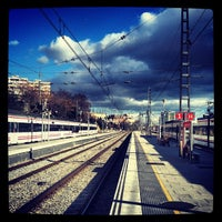 Photo taken at RENFE L'Hospitalet de Llobregat by Carlos M. on 1/15/2013