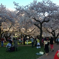 Photo taken at UW Quad by Henry T. on 4/1/2013