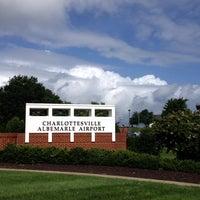 Photo taken at Charlottesville-Albemarle Airport (CHO) by Jennifer G. on 7/14/2013