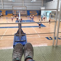 Photo taken at Polideportivo Tigres UANL by María J. on 4/21/2016