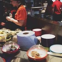 Photo taken at YO! Sushi by Zana F. on 2/17/2013