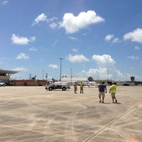Photo taken at Stennis International Airport by Andrew B. on 6/5/2013