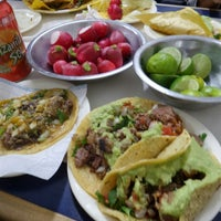 Photo taken at Tacos El Franc by Veronica K. on 2/14/2016