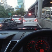 Photo taken at North Ploenchit Exit by KissCaT C. on 4/29/2013