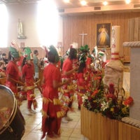 Photo taken at Iglesia San lorenzo by Kriz A. on 8/10/2013