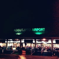 Photo taken at Adisutjipto International Airport (JOG) by Diwantara A. on 3/31/2013