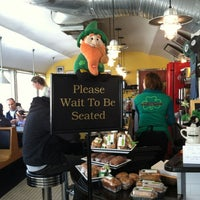 Photo taken at O'Rourke's Diner by Julie W. on 3/9/2013