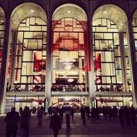 Photo taken at Metropolitan Opera by Way-Fan C. on 10/2/2013