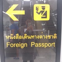 Photo taken at Thai Immigration: Passport Control - Zone 3 by Yingpis K. on 6/3/2013