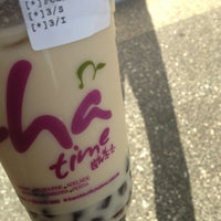 Photo taken at ChaTime (曰出茶太) by Jonah P. on 4/27/2013
